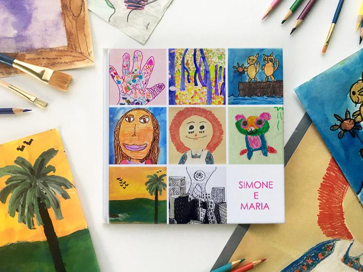 Trasforma i disegni d'infanzia in un FotoLibro