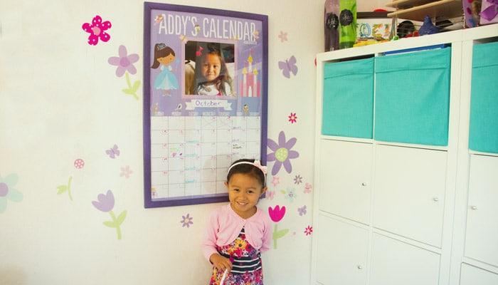 Fai da te: Calendario-lavagna da parete personalizzato